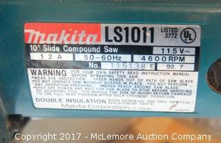 "Makita LS1011 10"" Slide Compound Saw"