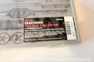 Sears Craftsman Tap and Hex Die Set Standard Thread