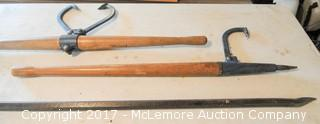 Logging Tools and Pry Bar