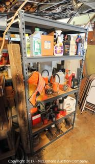 Utility Shelf with Contents