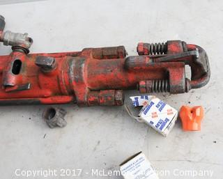 Pneumatic Jack Hammer with Bits