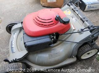 Honda Push Mower with Baggers and Jack