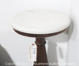 Marble Top Lamp Stand