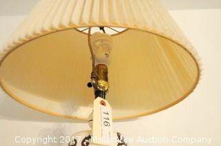 Lamp Globe And Shade