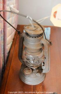Assortment Of Oil Lamps