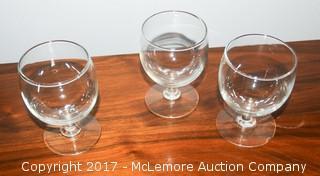 Twenty Pieces Of Glassware