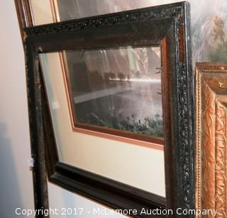 Assortment Of Frames And Framed Prints