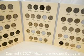 Con Collection Books Containing Partial Collections Of Coins