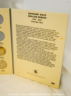 Coin Collection Books With Partial Coin Collections