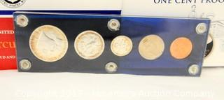 1952 & 1987 Coin Proof Sets, 2009 One Cent Proof Set