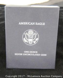 2007 American Eagle One Ounce Silver Uncirculated Coin