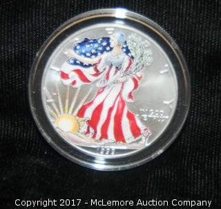 1999 Silver Dollar