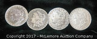 For One Dollar Coins- 1878, 1879, 1880, 1882