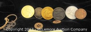 Assortment Of Novelty Coins AndTokens