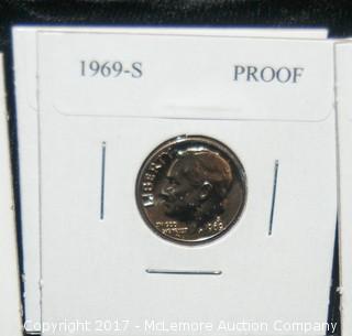 Assortment Of 6 Dimes