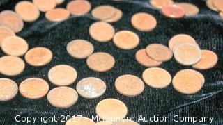 Assortment Of Coins Including Canadian Coins