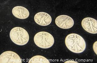 Assortment Of Half Dollar Coins