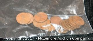 Assortment Of Pennies