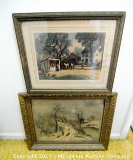 Two Framed Prints