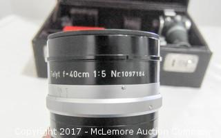 Leica DBP Camera, Lens, Case And Contents