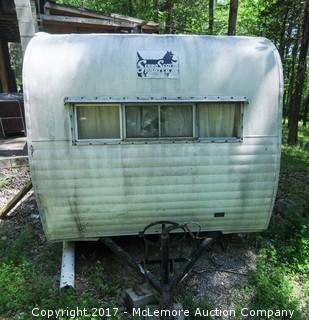 Vintage Serro Scotty Sportsman Pull Behind Camper