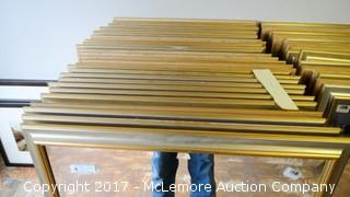 29 Mirrors with Beveled Edge and Silver Gold Frames
