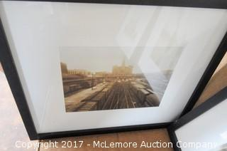 4 Framed Photos of the Union Station in Nashville