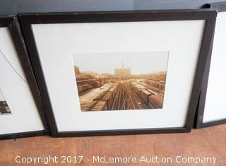 Four Framed Photos Of The Union Station Hotel In Nashville, TN