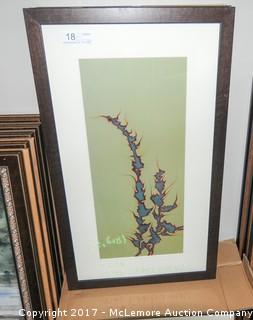 19 Pieces Of Framed Prints