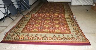 Rug Measures Approximately 9'X30'