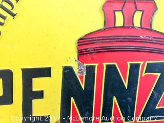 Reproduction Pennzoil Sign