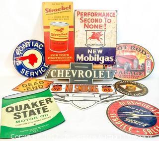 Assorted Automotive/Petroliana Signs