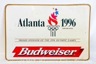 Vintage Atlanta 1996 Olympics Sign