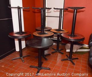 (11) Pedestal Tables