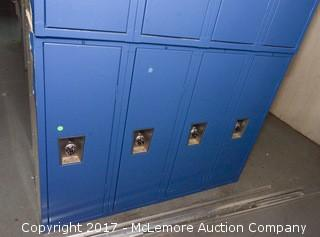 Section of Lockers