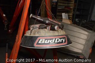Bud Dry Draft Hanging Light