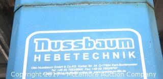 Nussbaum Hebetechnik Commercial Automotive Lift