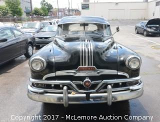 1952 Pontiac Chieftain 4dr Sedan