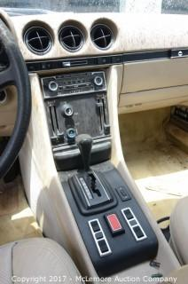 1978 Mercedes-Benz 450SLC 2dr Sedan