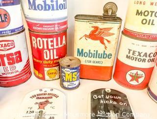 Assorted Petroliana