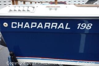 1982 Chaparral 198 Bowrider