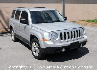 2011 Jeep Patriot Latitude 4x4 with a 2.4L L4 DOHC 16V Engine