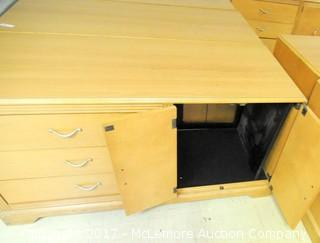 Multi Use Wood Cabinet
