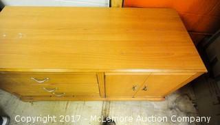 Multi Use Wood Cabinet