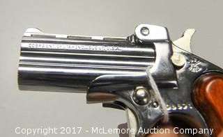 Cobra ENT C22M Deringer 22 Caliber 2 Round Pistol with Case
