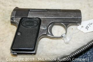 Browning Pistol with Clip and Case