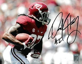 Derrick Henry Signed Alabama Crimson Tide 8x10 Photo