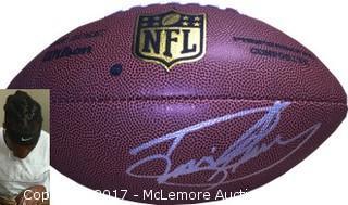 Derrick Henry Signed NFL Wilson Replica Composite Football