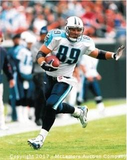 Frank Wycheck Unsigned Tennessee Titans 8x10 Photo