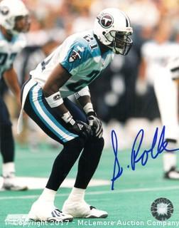Samari Rolle Signed Tennessee Titans 8x10 Photo